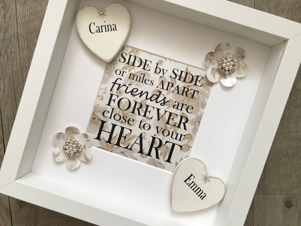 Friendship Picture Frames With Quotes: Personalised Friendship Frame